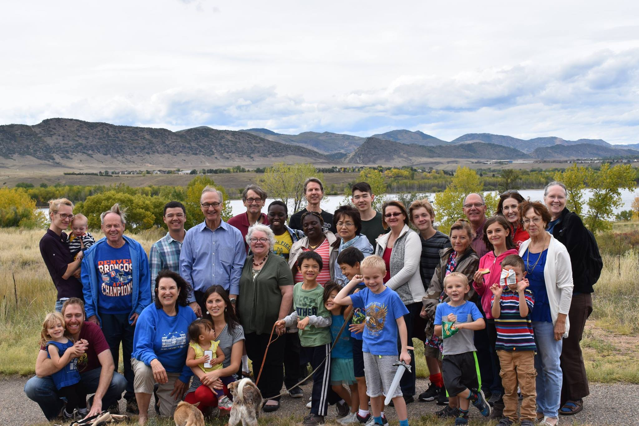 Group photo after the picnic at Chatfield State Park
